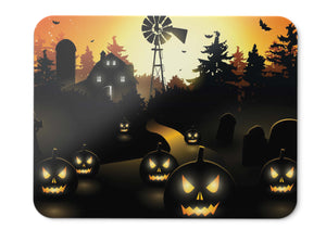 Mouse Pad Scary Town Pumpkins - 21.5 X 27 X 0.3cm