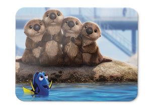 Mouse Pad Sea Lions Finding Dory Animation Pixar - 21.5 X 27 X 0.3cm