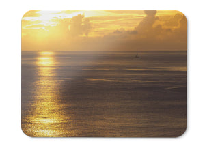 Mouse Pad Seascape Summer Sunset  - 21.5 X 27 X 0.3cm