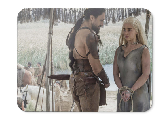 Mouse Pad Season  Game Of Thrones Daenerys Targaryen Emilia Clarke  - 21.5 X 27 X 0.3cm