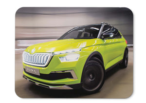 Mouse Pad Skoda Vision X 001 - 21.5 X 27 X 0.3cm