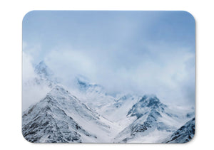 Mouse Pad Snow Mountains Hd  - 21.5 X 27 X 0.3cm