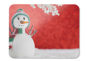 Mouse Pad Snowman Winter Snow Hd - 21.5 X 27 X 0.3cm