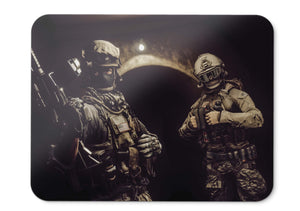 Mouse Pad Soldiers Battlefield  Hd  - 21.5 X 27 X 0.3cm