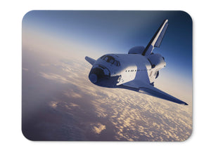 Mouse Pad Space Shuttle Spacecraft Earths Orbit - 21.5 X 27 X 0.3cm