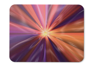 Mouse Pad Spectrum Light Colorful Hd  - 21.5 X 27 X 0.3cm