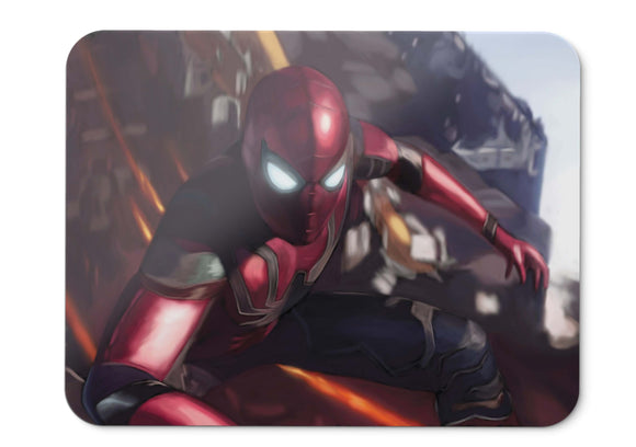 Mouse Pad Spider Man Avengers Infinity War  Hd  - 21.5 X 27 X 0.3cm