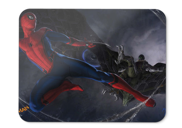 Mouse Pad Spider Man Homecoming  Movies Concept Art Spider Man  - 21.5 X 27 X 0.3cm