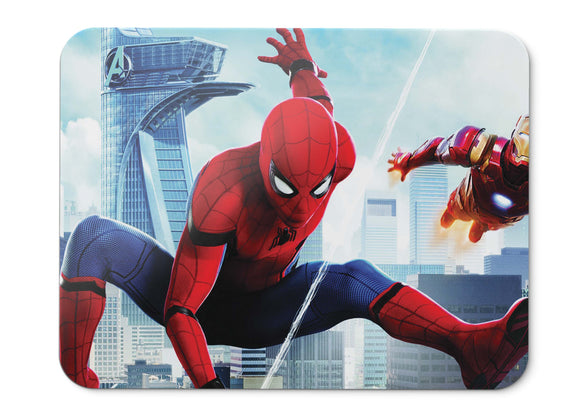 Mouse Pad Spider Man Homecoming Iron Man Hd  - 21.5 X 27 X 0.3cm