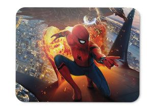 Mouse Pad Spider Man Homecoming Vulture Iron Man Hd - 21.5 X 27 X 0.3cm