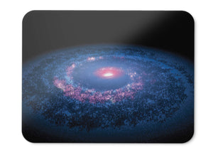 Mouse Pad Spiral Galaxy Milky Way Solar System Nasa Spitzer Space  - 21.5 X 27 X 0.3cm