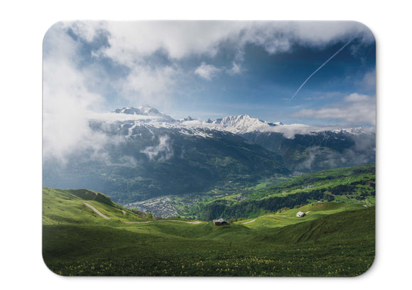 Mouse Pad Spring Mountains - 21.5 X 27 X 0.3cm
