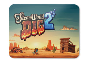 Mouse Pad Steamworld Dig  Nintendo Switch Playstation  Pc Linux - 21.5 X 27 X 0.3cm