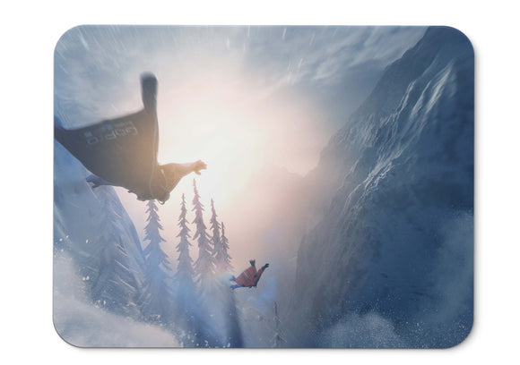 Mouse Pad Steep Gameplay Wingsuit Snow - 21.5 X 27 X 0.3cm