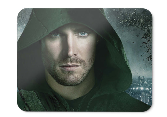 Mouse Pad Stephen Amell Arrow Oliver Queen Dc Comics Hd - 21.5 X 27 X 0.3cm