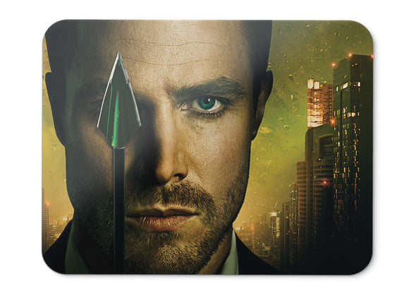 Mouse Pad Stephen Amell Arrow Oliver Queen Dc Comics - 21.5 X 27 X 0.3cm