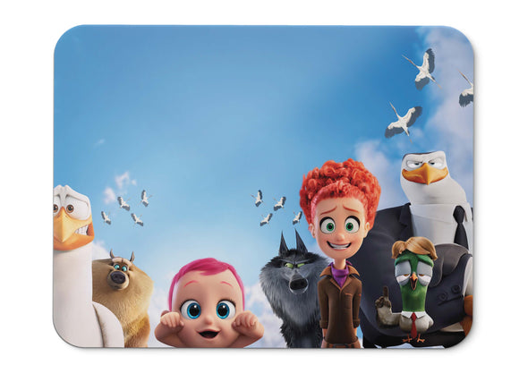 Mouse Pad Storks Animation   - 21.5 X 27 X 0.3cm