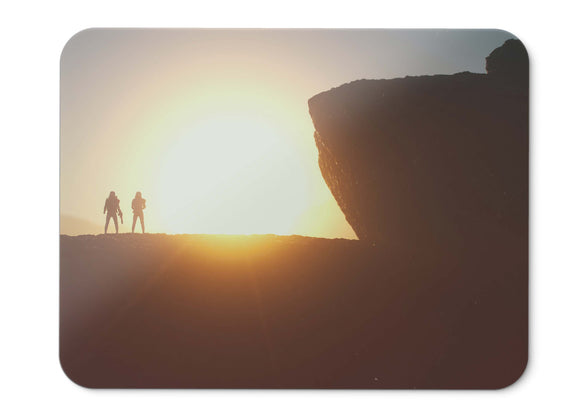Mouse Pad Stormtroopers Sunset Silhouette  - 21.5 X 27 X 0.3cm