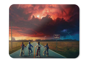 Mouse Pad Stranger Things Hd - 21.5 X 27 X 0.3cm