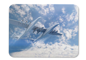Mouse Pad Stratolaunch Aircraft Pegasus Xl Carrier Aircraft - 21.5 X 27 X 0.3cm
