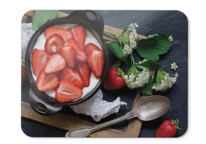 Mouse Pad Strawberries Mil - 21.5 X 27 X 0.3cm