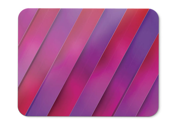 Mouse Pad Stripes Lines Pink Hd - 21.5 X 27 X 0.3cm
