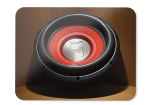 Mouse Pad Subwoofer Music Bass - 21.5 X 27 X 0.3cm