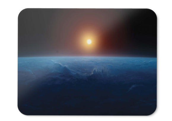 Mouse Pad Sun Earth Horizon Hd  002 - 21.5 X 27 X 0.3cm