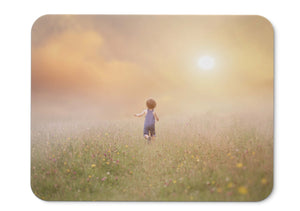 Mouse Pad Sunny Day Kid Joy Play Time Fields Landscape - 21.5 X 27 X 0.3cm