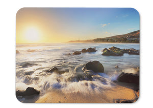 Mouse Pad Sunrise Morning Beach - 21.5 X 27 X 0.3cm