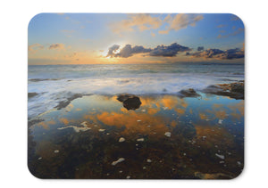 Mouse Pad Sunset Cloud Reflections - 21.5 X 27 X 0.3cm