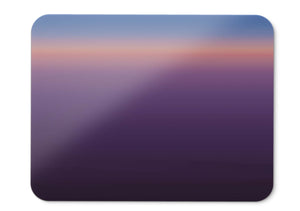 Mouse Pad Sunset Minimal Purple Hd  - 21.5 X 27 X 0.3cm