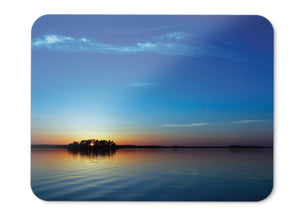 Mouse Pad Sunset Reflections Blue Sky Seascape Hd  - 21.5 X 27 X 0.3cm