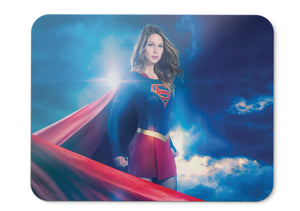 Mouse Pad Supergirl Season  Hd  001 - 21.5 X 27 X 0.3cm