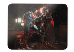 Mouse Pad Superman Batman Injustice  Fight - 21.5 X 27 X 0.3cm