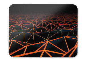 Mouse Pad Surface Triangles Hd  - 21.5 X 27 X 0.3cm