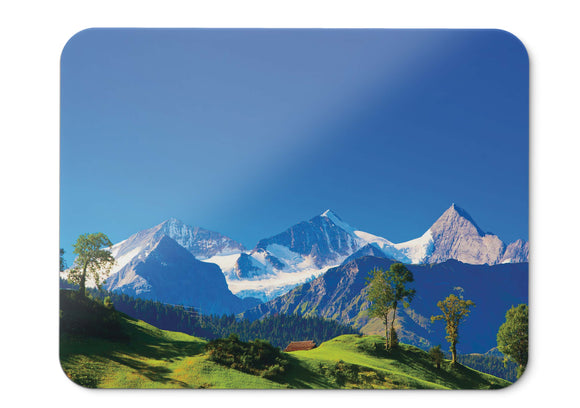Mouse Pad Switzerland Alps Mountains Landscape Hd  - 21.5 X 27 X 0.3cm