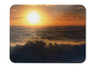 Mouse Pad Tasman Sea Sunset Beach Waves  - 21.5 X 27 X 0.3cm