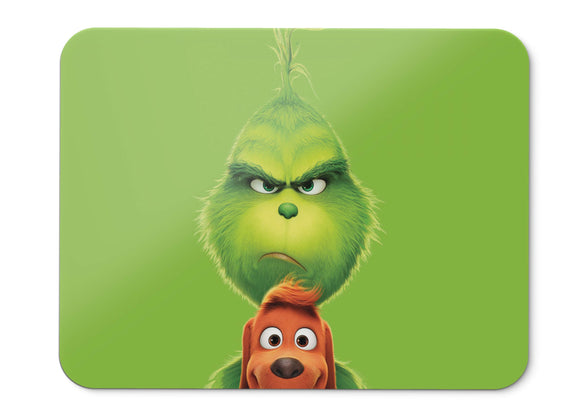 Mouse Pad The Grinch Animation Comedy - 21.5 X 27 X 0.3cm