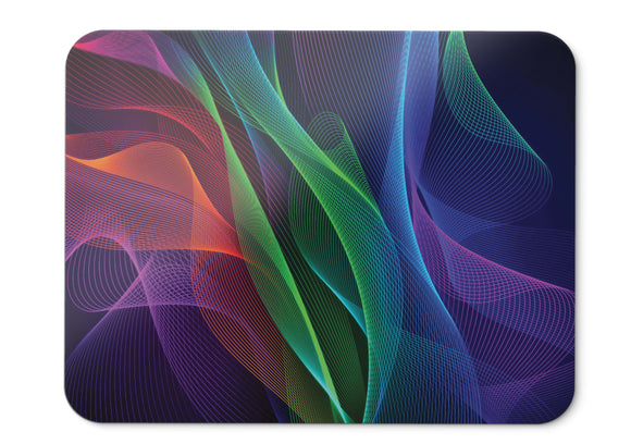 Mouse Pad Waves Colorful Razer Phone Stock Hd  - 21.5 X 27 X 0.3cm