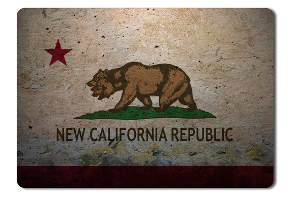 Mouse Pad New California Republic From Fallout - 21.5 X 27 X 0.3cm
