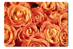 Mouse Pad Orange Roses - 21.5 X 27 X 0.3cm