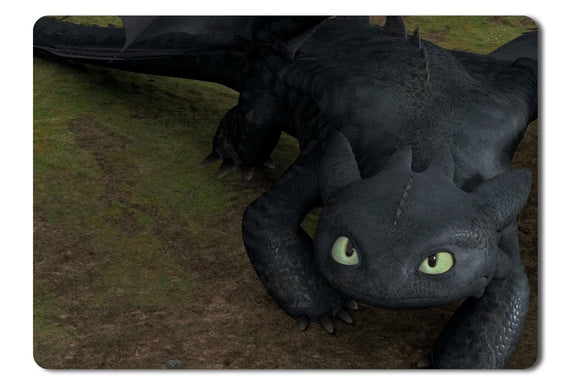 Mouse Pad Toothless In How To Train Your Dragon - 21.5 X 27 X 0.3cm