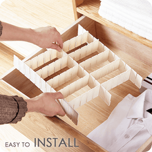 Load image into Gallery viewer, Free Combination Adjustable Drawer Organizer