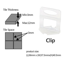 Load image into Gallery viewer, Tile Levelling Spacer Kit (100sets)