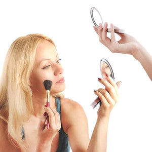 Portable Phone Charger Makeup Mirror