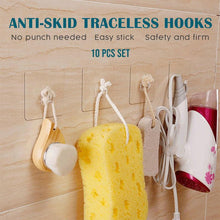 Load image into Gallery viewer, Anti-skid Traceless Reusable Hooks (10 PCS)