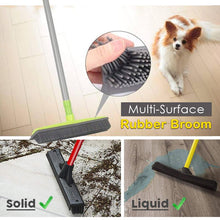 Load image into Gallery viewer, Multi-Surface Rubber Broom