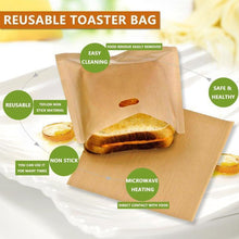 Load image into Gallery viewer, Non-stick Toaster Bags (2pcs)