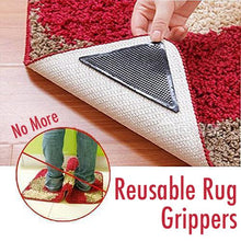Load image into Gallery viewer, Reusable Rug Grippers (8PCs)